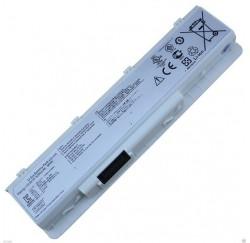 BATTERIE NEUVE Compatible ASUS N45SL, N55, N55E, N55S, N55SF - A32-N55 - 11.1V - 5200mah - Blanche - Gar.1 an