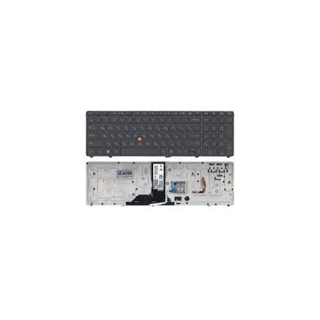 CLAVIER AZERTY NEUF HP Compaq EliteBook 8760W, 8770W 638514-051 NSK-HX5PV