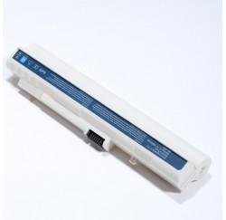 BATTERIE NEUVE COMPATIBLE ACER Aspire One A110, A150, D150, D250 - 11.1V - 6600mah - LC.BTP00.017 - UM08A31 - UM08A51 - Blanche