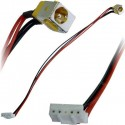 CONNECTEUR ALIMENTATION CARTE MERE + CABLE ACER ASPIRE 5235, 5535, 5735, 7735, 7738, 8530, 8730 - TLDC204 - 50.4K802.001