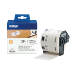 800 ETIQUETTES ADRESSE 29 X 62 mm Noir/Blanc - Brother QL-1050, QL-700 DK-11209