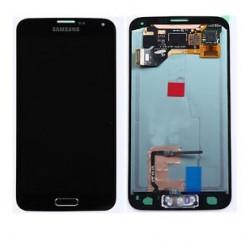 ENSEMBLE VITRE TACTILE + ECRAN LCD SAMSUNG Galaxy S5 SM-G900F - Noir