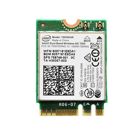 CARTE WIFI IBM LENOVO G50-30 - AC7265