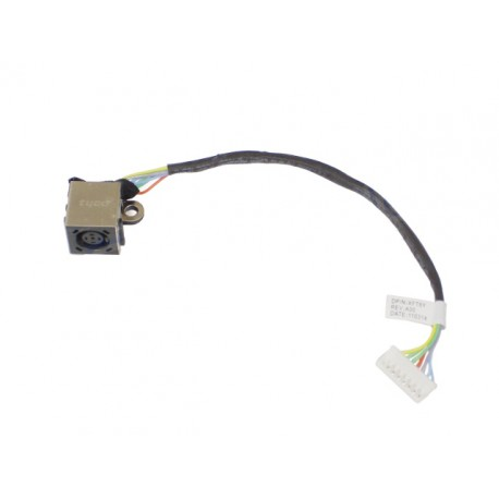 CONNECTEUR DC JACK + CABLE DELL XPS 15 L501X L502X XFT6Y - P11f - P11F001