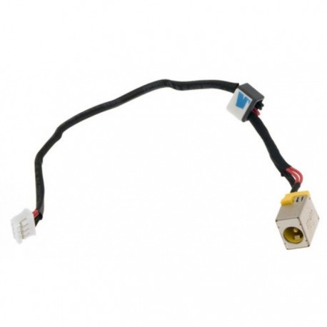 CONNECTEUR DC JACK + CABLE PACKARD BELL EN TE69KB, ACER Aspire E1-522 - 50.M81N1.001 - 65W