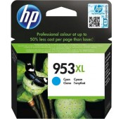 CARTOUCHE Cyan HP OfficeJet Pro 8210, 8720 - F6U16AE - 953XL - 1600pages