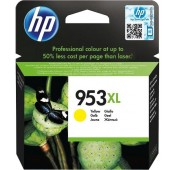 CARTOUCHE Jaune HP OfficeJet Pro 8210, 8720 - F6U18AE - 953XL - 1600pages