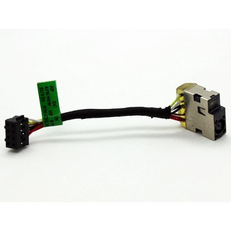 CONNECTEUR DC JACK + CABLE HP Pavilion 17-F, X360 11 - 756956-FD1 763699-001 756956-YD1