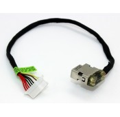 CONNECTEUR DC JACK + CABLE HP Envy 17-N - 799752-S18 - 813797-001