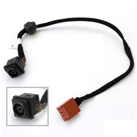 Connecteur alimentation carte mère portable + câble SONY VGN-AW series - 073-0001-5266-A