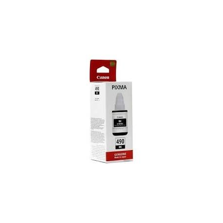 CARTOUCHE ENCRE NOIRE CANON Pixma G1400, G2400, G3400 - GI-490 BK - 0663C001 - 6000 Pages