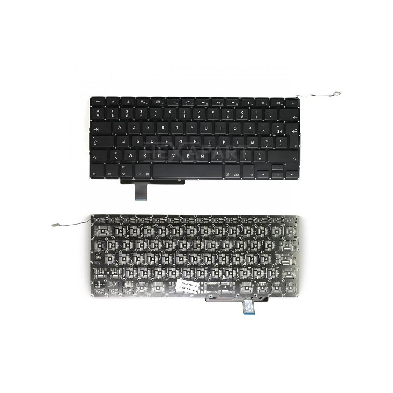 clavier azerty reconditionne apple macbook pro 17 unibody a1297 s2i informatique. Black Bedroom Furniture Sets. Home Design Ideas