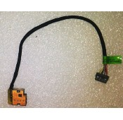 Connecteur carte mère DC Jack + Cable - HP Pavilion 15 - CBL00360-0150 - 709802-YD1