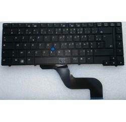 CLAVIER AZERTY NEUF HP Compaq EliteBook 8440P, 8440W - 594052-051 -Gar.3 mois
