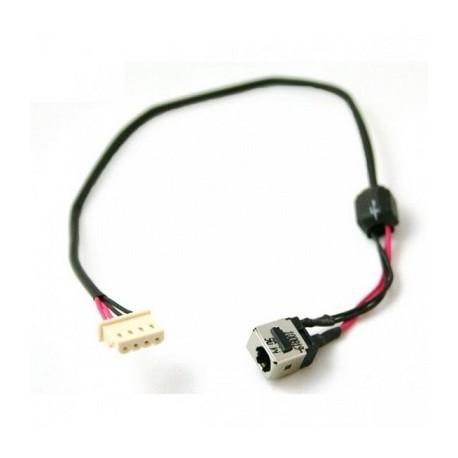 Connecteur alim. Toshiba L655 T135 L755 L755D - Gar.3 mois