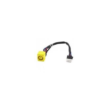 Connecteur alimentation DC Power Jack + Câble 14W pour IBM / LENOVO SL400 SL500 - 93P4580 - FRU44C9986 - FRU44C9987