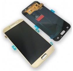 ENSEMBLE NEUF ECRAN LCD + VITRE TACTILE Samsung A5 2017 A520F - GH97-19733B - Or - Gold