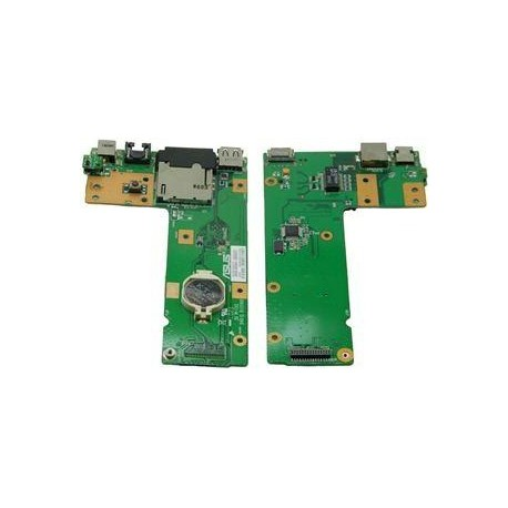 Carte DC board power jack + RJ45 + lecteur carte + USB ASUS X52J, X52F - 90R-NXMDC1000U - 60-NXMDC1000-C01
