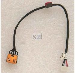 CONNECTEUR DC JACK + CABLE IBM LENOVO G50-30, G50-45, G50-70, G50-80, Z50-70, Z50-75 - Version UMA - 90205113 - DC30100LF00