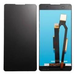 ENSEMBLE VITRE TACTILE + ECRAN LCD Sony Xperia E5 - Noir