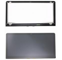 ENSEMBLE VITRE TACTILE + ECRAN LCD HP ENVY 15-AS Série