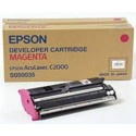TONER EPSON MAGENTA ACULASER C1000/2000