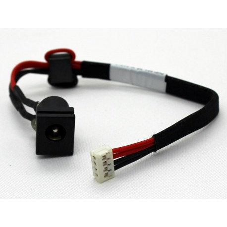 Connecteur alimentation DC Power Jack + Câble pour TOSHIBA Satellite C650 C650D C655 - V000942580