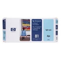 TETE D'IMPRESSION HP LIGHT CYAN Designjet 5000, 5500 - No81 - C4954A