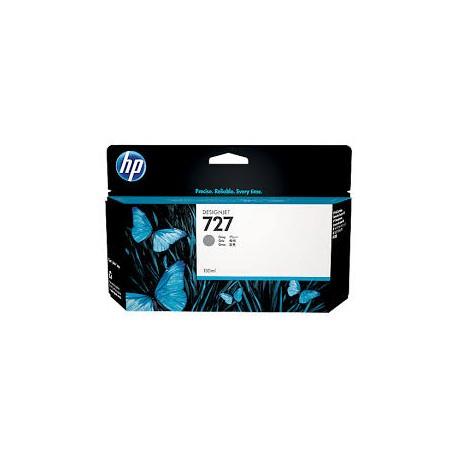 CARTOUCHE GRISE HP Designjet T1500, T2500, T920 - B3P24A - N°727 - 130ml