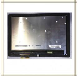ENSEMBLE VITRE TACTILE + ECRAN LCD HP Spectre X2 12-A Série - Version coins arrondis - pointillés
