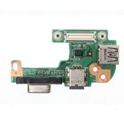 CARTE FILLE NEUVE USB, DC, VGA DELL Inspiron N5110 - PFYC8, DQ15DN15, 48.4IF05.011.