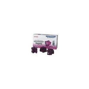TONER XEROX MAGENTA PHASER 8560 - 3400 PAGES - 3 BATONNETS