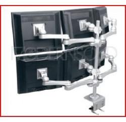 Support multi-écrans 700 mm à serrage max.36 Kg - LA-518-1