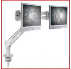 Support 2 écrans max: 15 Kg Fixation étau - LA-915