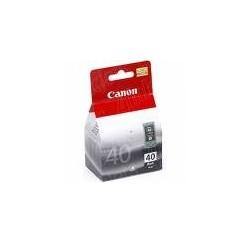 CARTOUCHE CANON NOIRE MONOBLOC PIXMA IP1600, IP2200, IP6220D, MP150, MP170, MP450 - PG-40