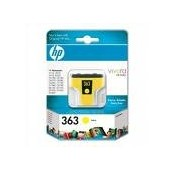 CARTOUCHE HP JAUNE PHOTOSMART 8250 - 4ML - No363 - C8773E
