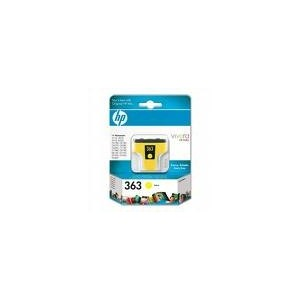 CARTOUCHE HP JAUNE PHOTOSMART 8250 - 4ML - No363