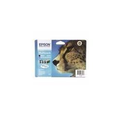 PACK CARTOUCHES EPSON NOIR/CYAN/MAG/JAUNE -D78/DX4000/5000/6050 - C13T07150