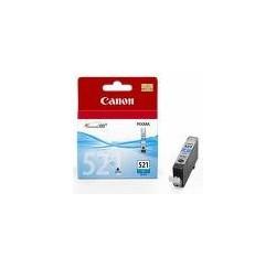 CARTOUCHE CANON CYAN Pixma IP3600/4600/MP540/620/630/980 - CLI-521C