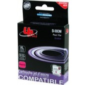 CARTOUCHE BROTHER MAGENTA COMPATIBLE LC1100M, LC980M - 12ml
