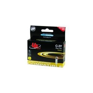 CARTOUCHE CANON JAUNE Compatible BCI-3EY - 14ml