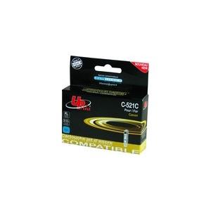 CARTOUCHE CANON Cyan Pixma Compatible CLI-521C - 10.5ML - avec puce