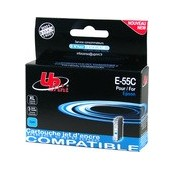 CARTOUCHE EPSON CYAN COMPATIBLE STYLUS PHOTO R240, R245, RX420, RX425, RX520 - 12.5ML - T055240