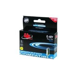 CARTOUCHE EPSON JAUNE COMPATIBLE Stylus Photo R200/300/RX500/600 - 15.5ML