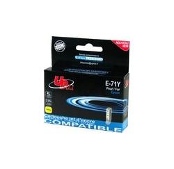 CARTOUCHE EPSON JAUNE COMPATIBLE STYLUS DX78 - 11ML - T071440