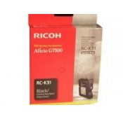CARTOUCHE RICOH GEL D'ENCRE NOIR G7500 - 3200 pages - RC-K31