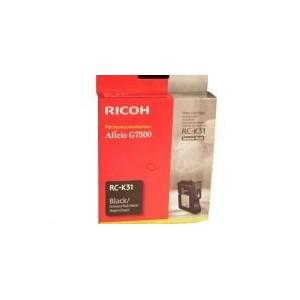 CARTOUCHE RICOH GEL D'ENCRE NOIR G7500 - RC-K31