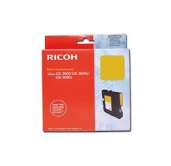 CARTOUCHE RICOH GEL D'ENCRE JAUNE AFICIO GX3000/3050N - GC-21Y