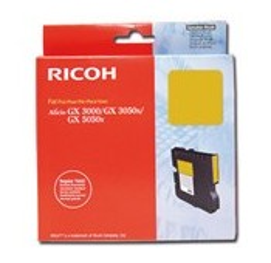 CARTOUCHE RICOH GEL D'ENCRE JAUNE AFICIO GX3000/3050N/GX5050N - 1000 pages - GC-21Y - 405535
