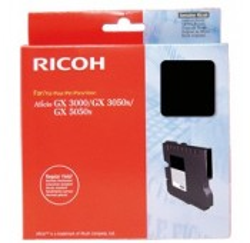 CARTOUCHE RICOH GEL D'ENCRE NOIR AFICIO GX5050N - 3000 pages - GC-21KH